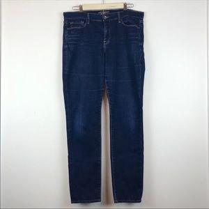 Lucky Brand Sofia Skinny Jeans Dark Wash